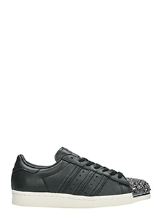 Adidas-Sneakers Superstar 80 S in pelle nera