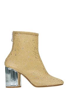 Maison Margiela-Tronchetti in tessuto elastico glitter oro