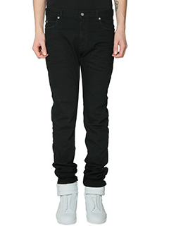 Maison Margiela-Jeans in denim nero