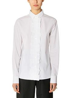 Maison Margiela-white cotton shirt