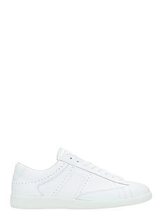 Maison Margiela-Sneakers Ace in pelle bianca
