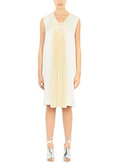 Maison Margiela-beige viscose dress