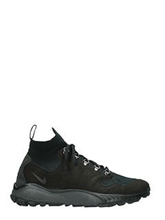 Nike-Snekares Zoom Talaria Flyknit Mid in tessuto nero