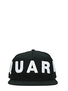 Dsquared 2-Cappello Logo in cotone nero
