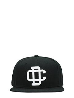 Dsquared 2-Cappello 2D in cotone nero