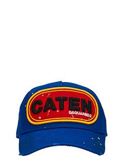 Dsquared 2-Cappello in cotone blue