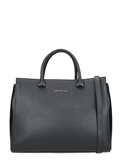 Lancaster-Borsa  Shopping Bag medium  in pelle nera