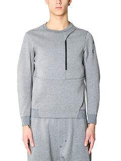 Nike Lab ACG-Felpa Tech Fleece in cotone grigio