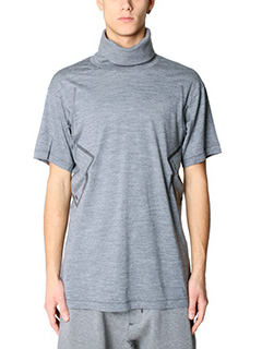 Nike Lab ACG-T-Shirt SS Top in cotone grigio