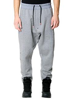Nike Lab ACG-Pantaloni Tech Fleece in cotone grigio