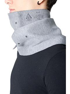Nike Lab ACG-Sciarpa Scaiter in cotone grigio