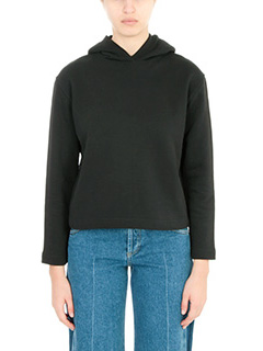 Balenciaga-Felpa in cotone nero