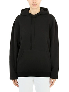 Balenciaga-black cotton sweatshirt