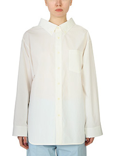 Balenciaga-white cotton shirt