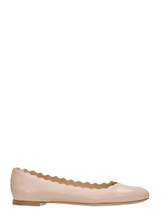 Chlo�-Lauren powder leather ballet flats