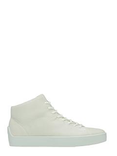 The last Conspiracy-Sneakers Gunnar in pelle bianca