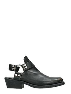 Balenciaga-Tronchetti in pelle nera
