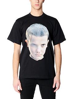 IH NOM UH NIT-T-Shirt Printed in cotone nero