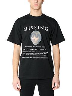 IH NOM UH NIT-T-shirt Missing in cotone nero