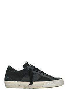 Philippe Model-Sneakers  Bercy in pelle e camoscio nero