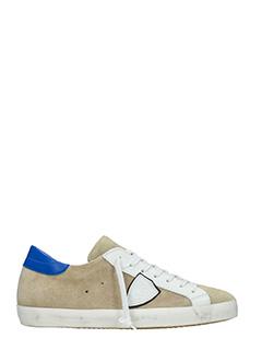 Philippe Model-Sneakers Classic in camoscio beige