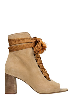 Chlo�-Harper  powder suede ankle boots