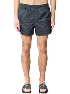 Marcelo Burlon-Shorts Chico in nylon nero