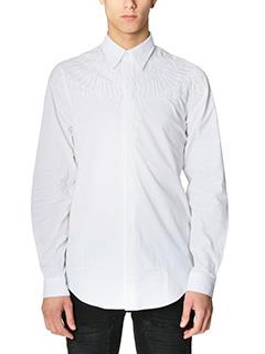 Marcelo Burlon-Camicia Asier in cotone bianco