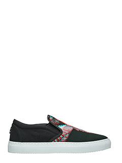 Marcelo Burlon-Sneakers  Lauren in cotone nero
