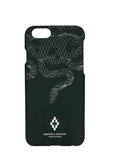 Marcelo Burlon-Cover  Rodrigo IPhone 6  in plastica nera