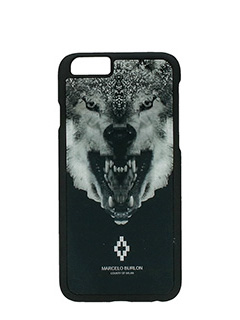 Marcelo Burlon-Cover Marcos IPhone 6  in plastica nera