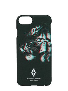 Marcelo Burlon-Cover Tajo IPhone 7  in plastica nera