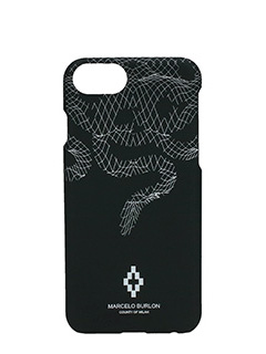 Marcelo Burlon-Cover  Rodrigo IPhone 7  in plastica nera