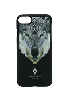 Marcelo Burlon-Cover Marcos IPhone 7  in plastica nera