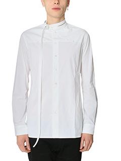 Raf Simons-Camicia  in cotone bianco