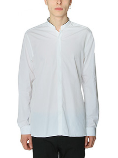 Lanvin-Camicia in cotone bianco