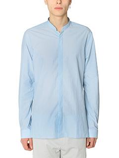 Lanvin-Camicia in cotone celeste
