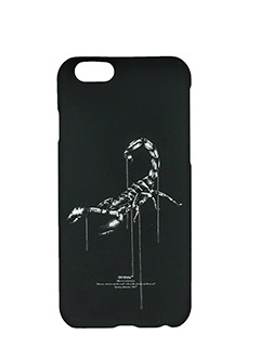 Off White-Cover Othelo Scorpion IPhone  6 in plastica nera