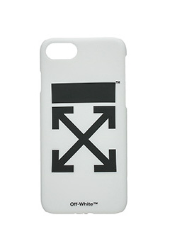 Off White-Cover Arrows IPhone 7 in plastica bianca