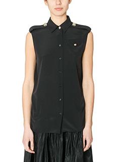 Kenzo-Camicia in seta nera