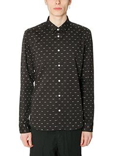 Kenzo-Camicia in cotone nero