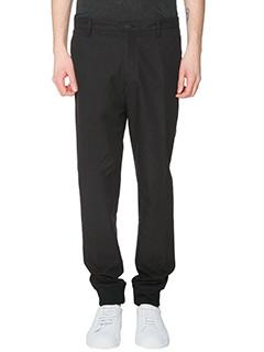 Kenzo-Pantalone in cotone nero