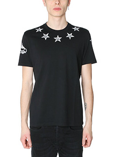 Givenchy-T-Shirt in cotone nero