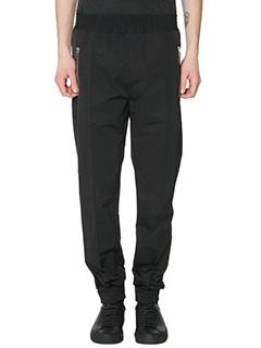 Givenchy-Pantaloni in cotone nero