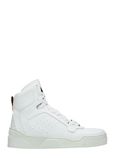 Givenchy-Sneakers Tyson III in pelle bianca