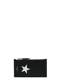 Givenchy-Portacarte Card Holder in pelle nera