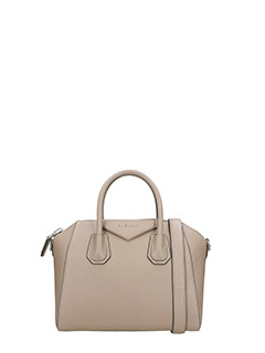 Givenchy-Borsa Antigona Small in pelle mastice