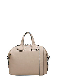 Givenchy-Borsa Nightingale Small in pelle mastice