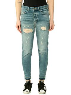 Golden Goose Deluxe Brand-Jeans Golden Happy in denim blue