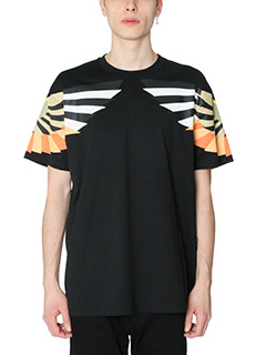 Givenchy-T-Shirt Wings in cotone nero